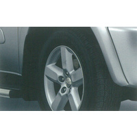 Genuine Toyota Rav4 Aug 03 - Oct 05   Mudflap- Front- Right