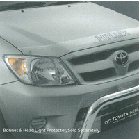 Genuine Toyota Hilux Bonnet Protector Clear Feb 2005 - Sep 2011 PZQ15-89060