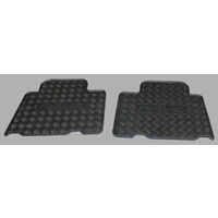 Genuine Toyota  Rav4 Rear Rubber Floormats Nov 2005 - Dec 2012 PZQ20-42205