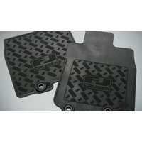 Toyota FJ Cruiser Front Rubber Floor Mats Feb 2011 - Aug 2016 PZQ20-60320