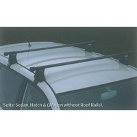 Genuine Toyota Corolla Aug 04 - Feb 07  Roof Rack Square Cross Rails