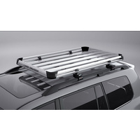 Genuine Toyota Alloy Roof Tray (Rail-Type R/Racks) Check Fitment PZQ30-60195