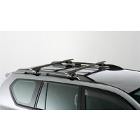 Genuine Toyota Prado Roof Rack 2 Bar Set for Roof Rails Aug '13 to Aug '17 PZQ3060200