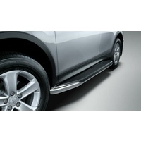 Genuine Toyota Rav4 Side Steps Aluminium Dec 2012 - Oct 2015 PZQ44-42090