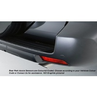 Genuine Toyota Prado Rear Park Assist Dark Steel Mica Nov 2013- PZQ9760081H2