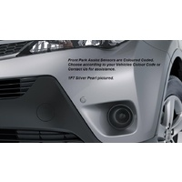 Genuine Toyota Rav4 Front Park Assist Glacier White Dec 2012-  PZQ984203040