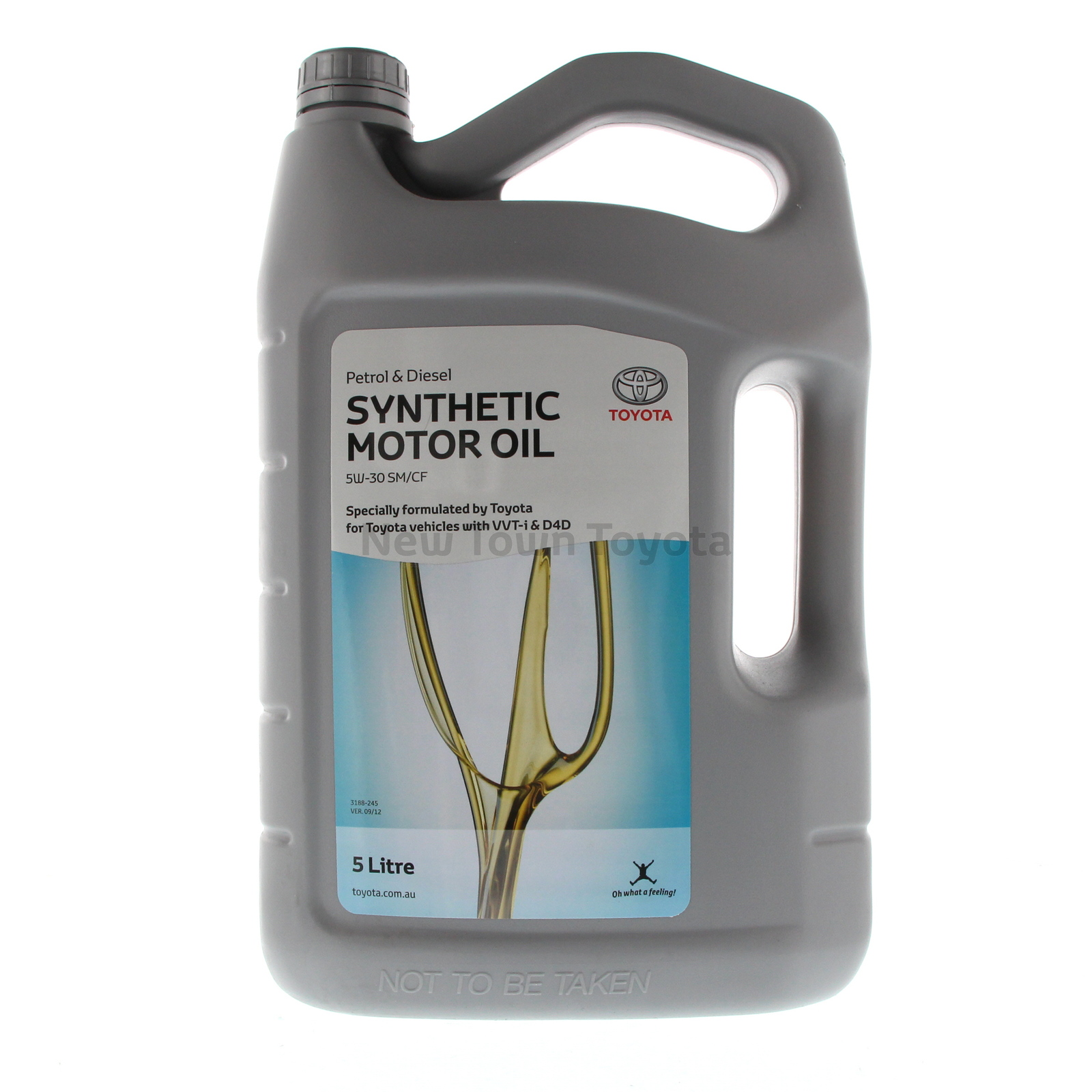 Genuine Toyota 5 Litres Engine Oil Synthetic 5w 30