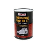 Genuine Toyota 1 Litre Differential Oil LT75W 85