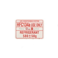 Genuine Toyota Air Conditioner Service Caution Label Sticker Camry 2002-2006
