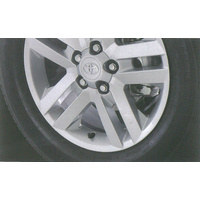 "Genuine Toyota Rav4 Nov 05 - Dec 12   Alloy Wheel 17"" Lava (17""X7"")"