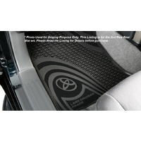 RUBBER FLOOR MATS (REAR,5 DOOR)